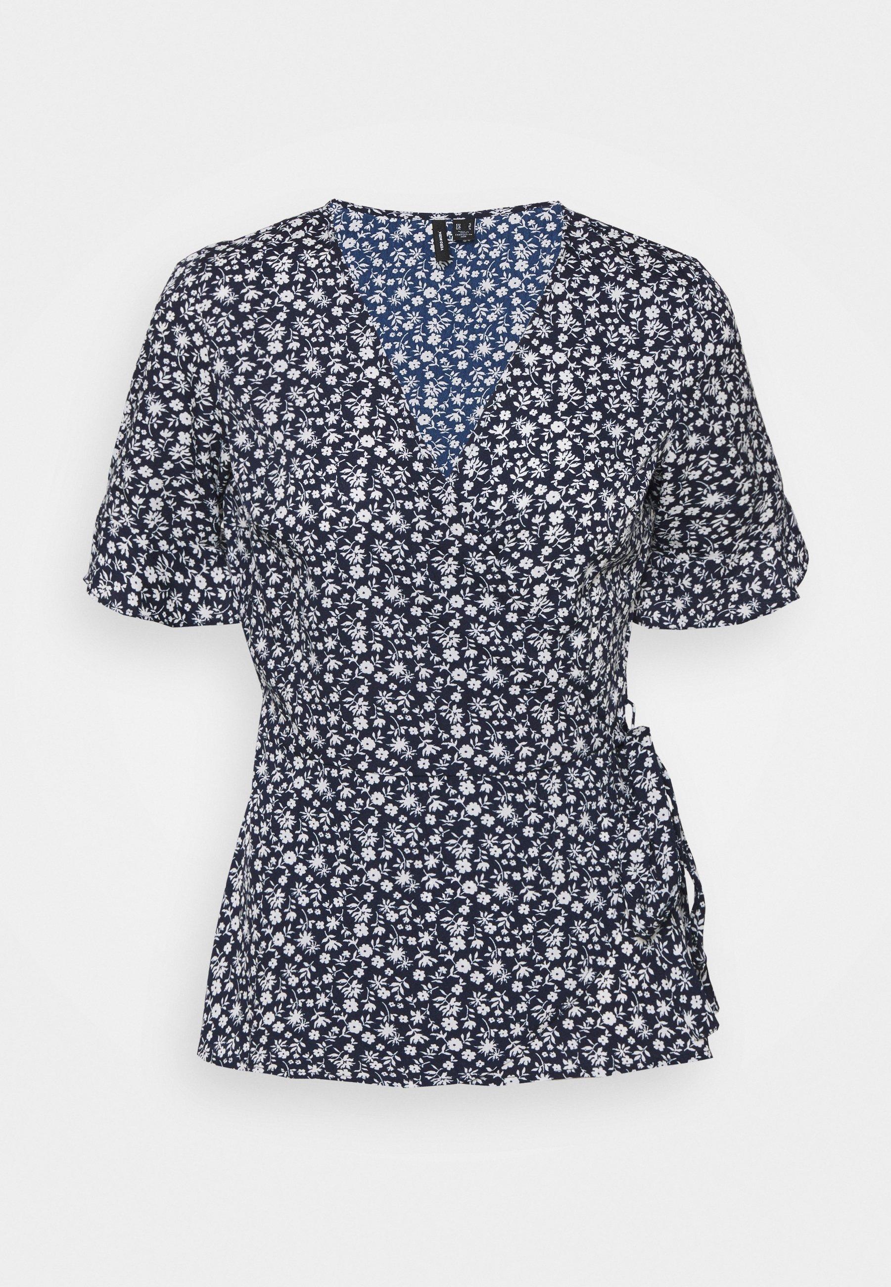 Damen VMHENNA WRAP - T-Shirt print