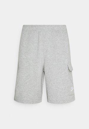 CLUB CARGO - Shorts - grey heather/white