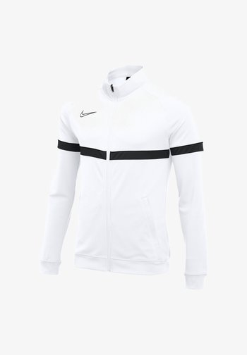 FUSSBALL - ACADEMY - Training jacket - weissschwarz