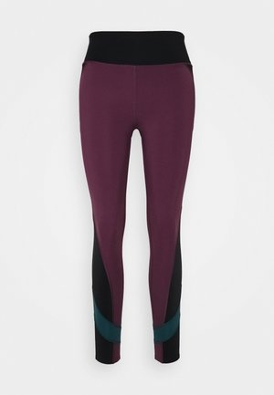 EDEAN LEGGING - Tights - prune