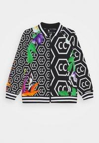 Carlo Colucci - BLOUSON UNISEX - Zip-up sweatshirt - black - 0