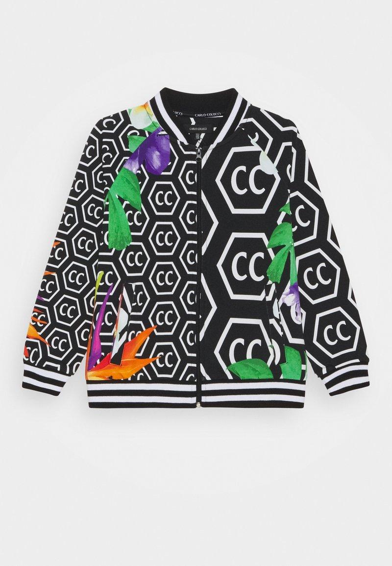 Carlo Colucci - BLOUSON UNISEX - Zip-up sweatshirt - black
