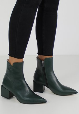 DARIANA - Classic ankle boots - green