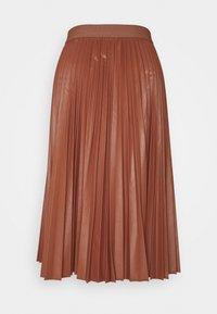 MAX&Co. - FLAVIANA - Pleated skirt - rust - 1