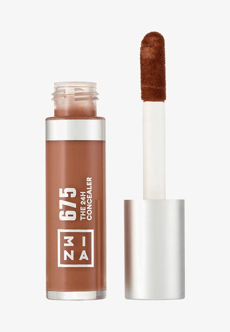 3ina - THE 24H CONCEALER - Concealer - 675 dark brown