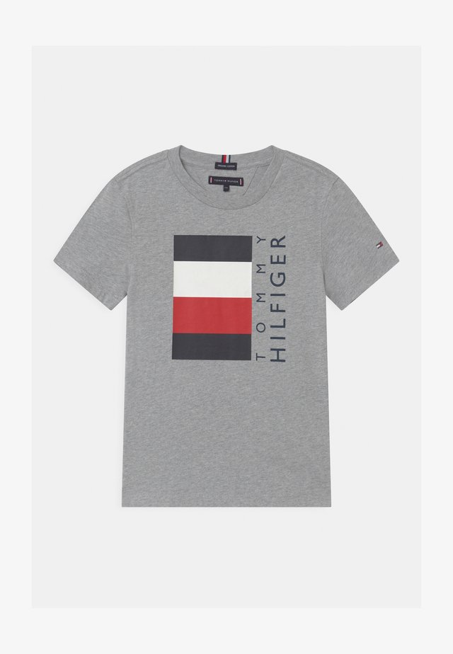 GLOBAL STRIPE  - T-shirts print - grey