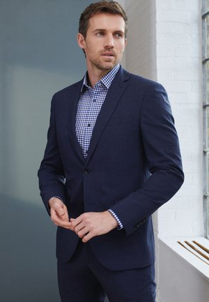 SIGNATURE MOTIONFLEX PUPPYTOOTH  - Suit jacket - dark blue