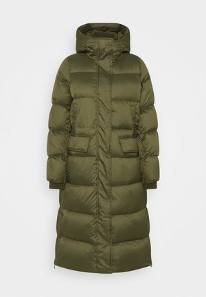BIG PUFFER COAT FILLED - Dunkåpe / -frakk - khaki