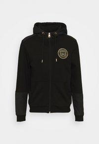 Glorious Gangsta - IRVAS HOODY - Zip-up sweatshirt - jet black - 4