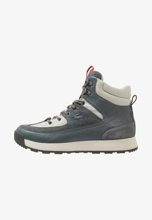 URBAN BREAKER - Lace-up ankle boots - grey/dark grey
