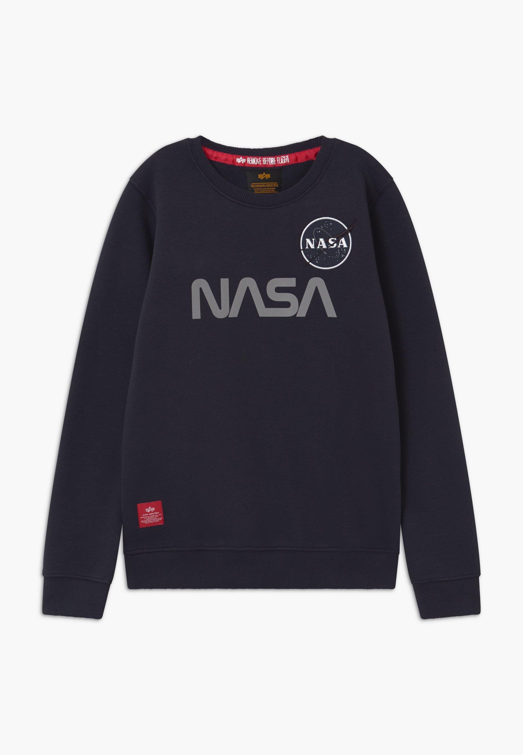 Alpha Industries NASA REFLECTIVE SWEATER Sweater blue