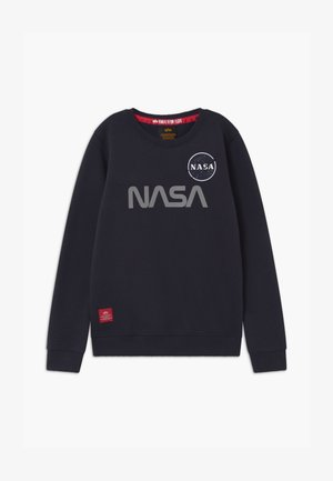 NASA REFLECTIVE - Sweatshirt - blue