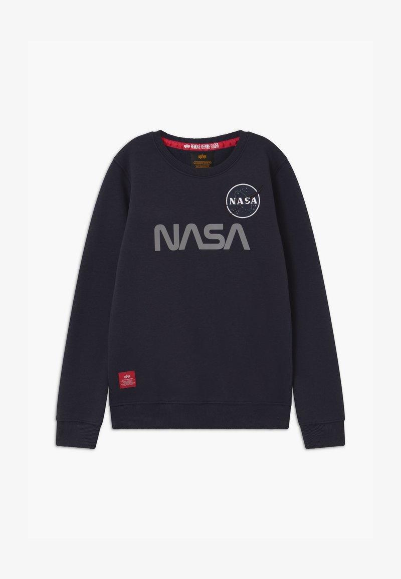 Alpha Industries - NASA REFLECTIVE - Sweatshirt - blue