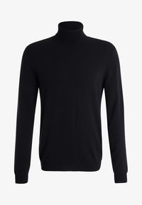 Benetton - BASIC ROLL NECK - Neule - black - 5