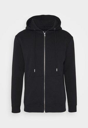 PAUL AARON HOODIE - Zip-up hoodie - black