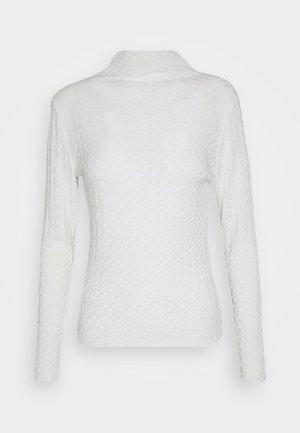 BYSANKA - Camiseta de manga larga - off white