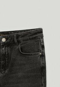 Massimo Dutti - Straight leg jeans - black - 3