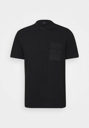 T-TASK-POLO POLO SHIRT - Polo shirt - black