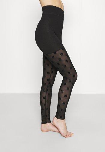 UFLB-FAUSTINCUT-LP - Leggings - Stockings - black