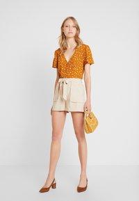 Springfield - GYM - Shorts - beige - 1