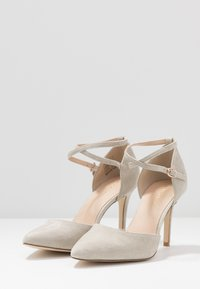 Anna Field - LEATHER PUMPS - High heels - grey - 4