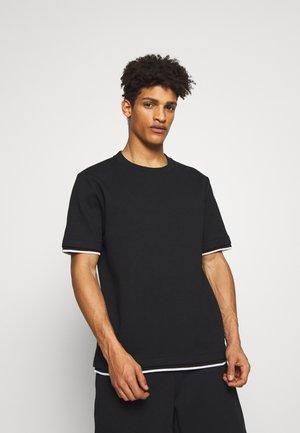 RACER TEE RANDY - Camiseta básica - black