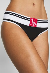 Calvin Klein Underwear - SOCK THONG - String - black - 4