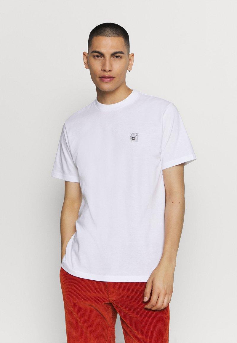 Carhartt WIP - ROMANCE  - Print T-shirt - white