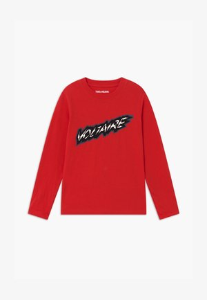 LONG SLEEVE - Long sleeved top - bright red