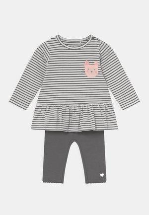 SET - Trousers - dark grey