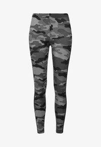 Urban Classics - Leggings - Trousers - darkcamo/blk - 3