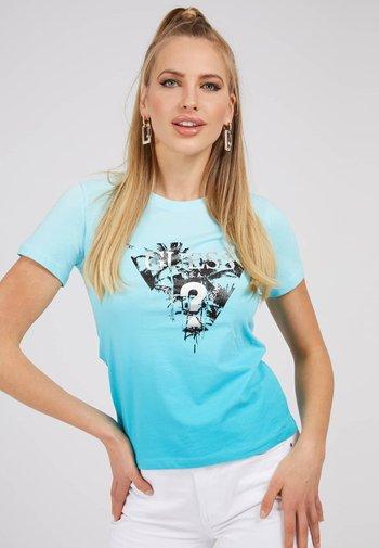 LOGODREIECK - T-shirt z nadrukiem - himmelblau