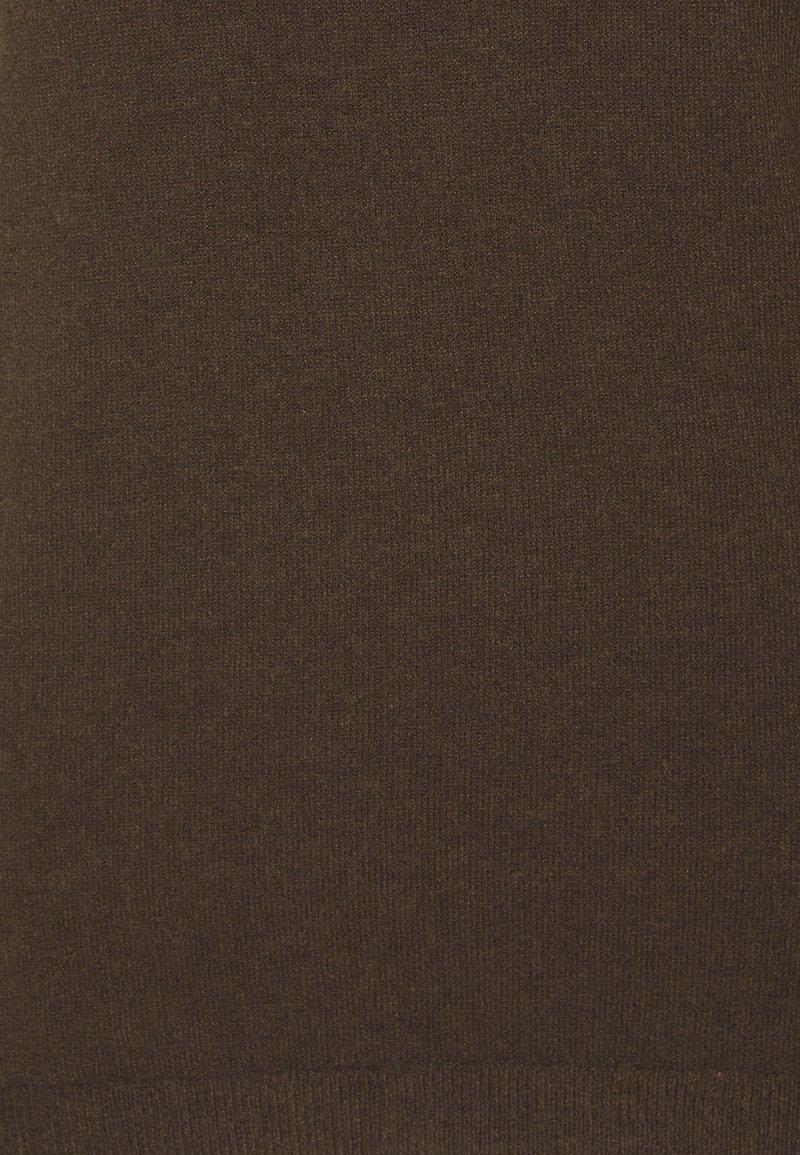 Object OBJTHESS - Strickpullover - chicory coffee melange/braun jy366l