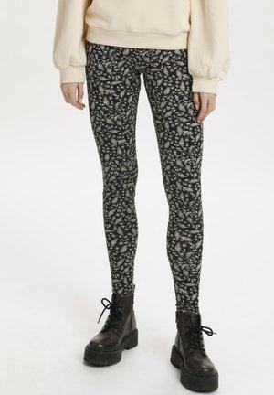 DAVINA - Leggings - Trousers - black reef florals