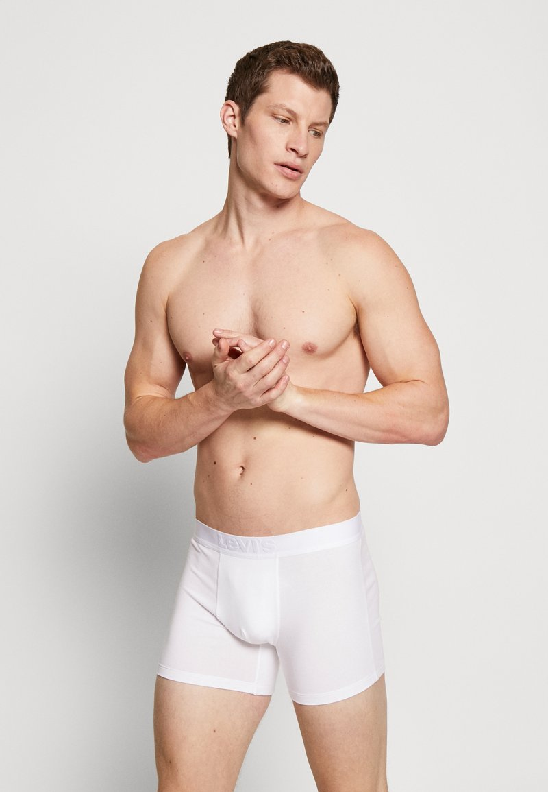 Levi's® - MEN PREMIUM BOXER BRIEF 3PACK - Pants - white