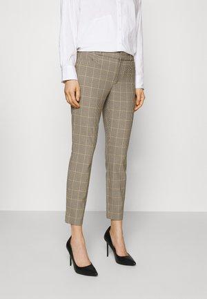 MODERN SLOAN TATTERSOL - Kalhoty - brown