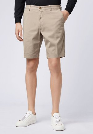 SLICE Slim Fit  - Shorts - open beige