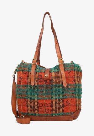 Handbag - scozzese rosso