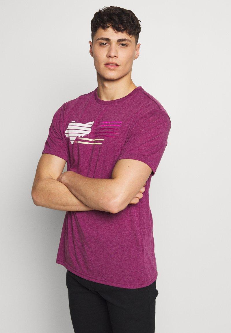 Fox Racing - LIGHTSPEED HEAD TECH TEE  - Funktionsshirt - purple