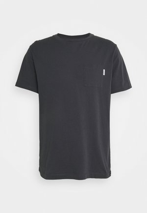 POCKET TEE - T-shirt - bas - anthracite
