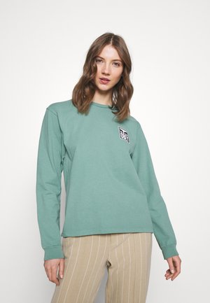 EYES - Long sleeved top - green leaf