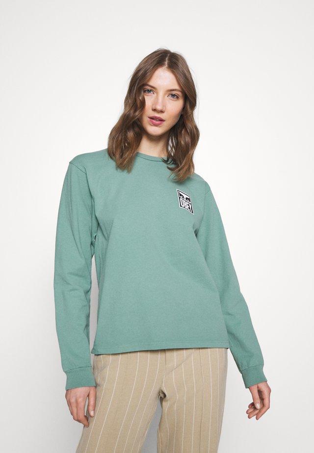 EYES - Camiseta de manga larga - green leaf