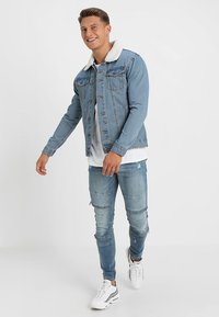Brave Soul - MJK-LARSON  - Giacca di jeans - blue denim - 1