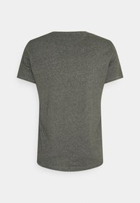 Tommy Jeans - JASPE NECK - Basic T-shirt - dark olive - 1