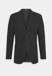 JPRSEERSUCKER - Blazer jacket - dark grey