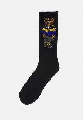 BLEND RACER BEAR - Socks - black
