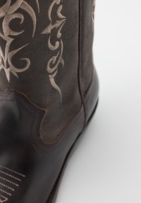 Kentucky's Western - UNISEX  - Cowboy/Biker boots - madison testa di moro/roc grey - 5