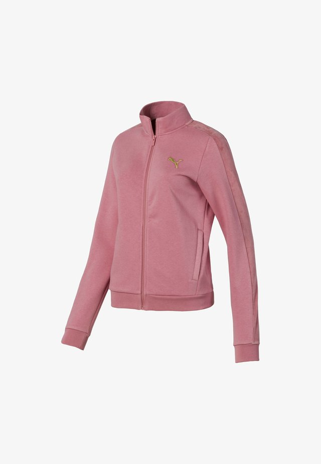 PUMA JACKET FEMMES - Giacca in pile - brandied apricot