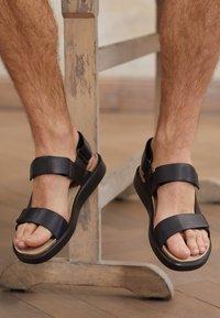 ECCO - CORKSPHERE  - Sandals - black - 3