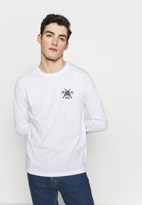 YOURTURN - Long sleeved top - white - 2